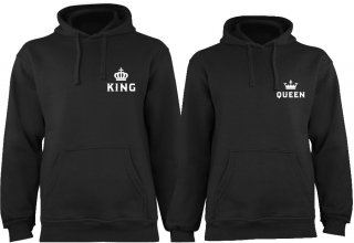 KING & QUEEN 02 | Mikiny pro pár
